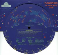 Planisphere - South Africa (28S)